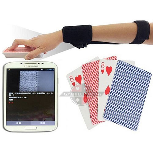 Sleeve Camera Poker Scanner for Marked Playing Cards