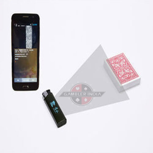 Lighter Camera Poker Analyzer for Marked Playing Cards