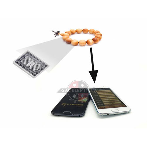 Gambling Bracelet Cheating Invisible Poker Cards Scanner