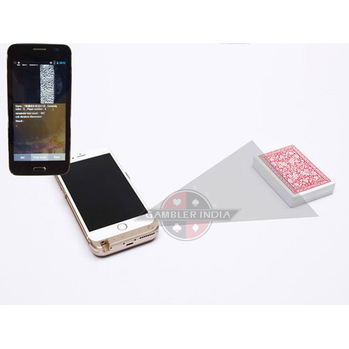 Cheating Mobile Poker Cards Scanner Device